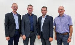 LBBL Ny bestyrelse Erling Christensen Martin Lambert Pedersen Peter Høj Kristian Korneliussen